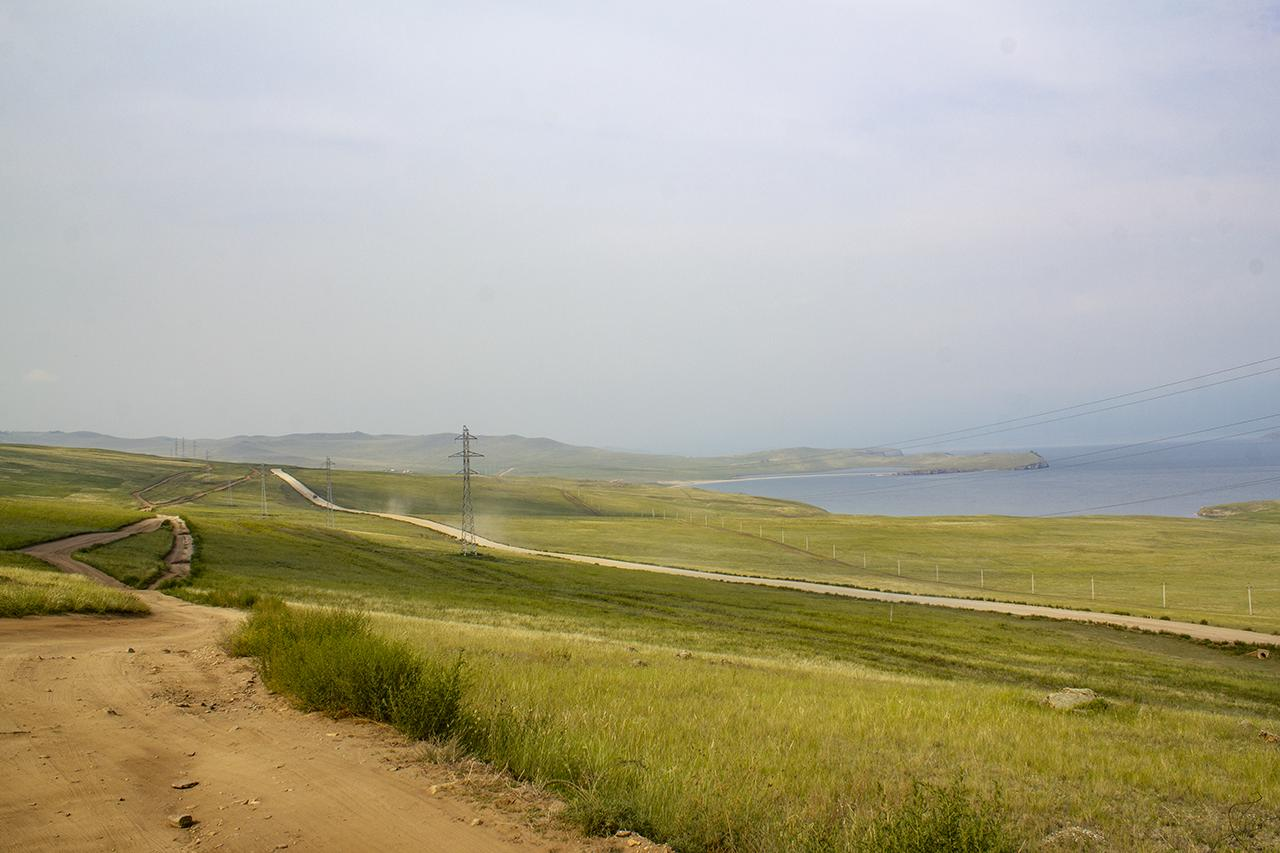На острове Ольхон на Байкале собираются построить дорогу из плит